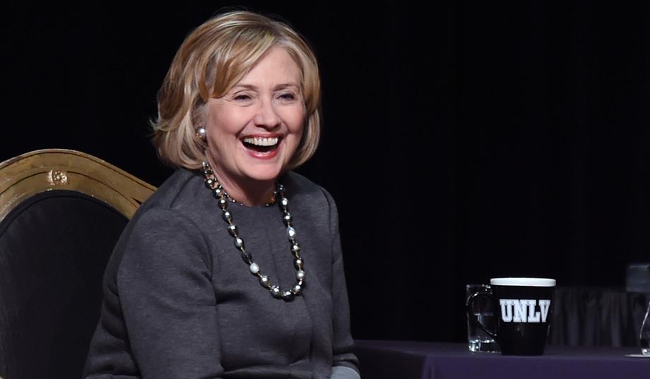 Clinton's narrow edge